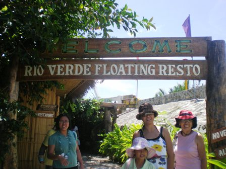 Floating restaurant bohol