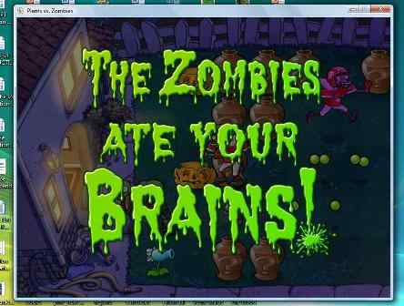 Zombies gonna eat your brain