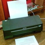 My EPSON T10 Printer runs out of ink easily