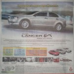 Own a Mitsubishi Lancer EX