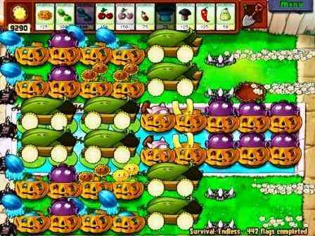 plants vs zombies survival endless