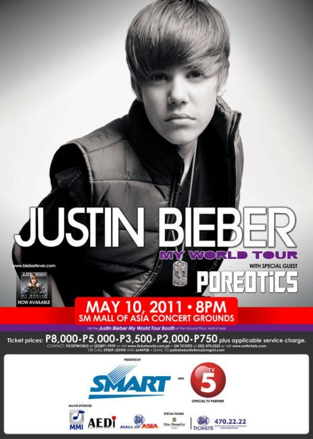 Justin Bieber Concert Live in Manila May 2011