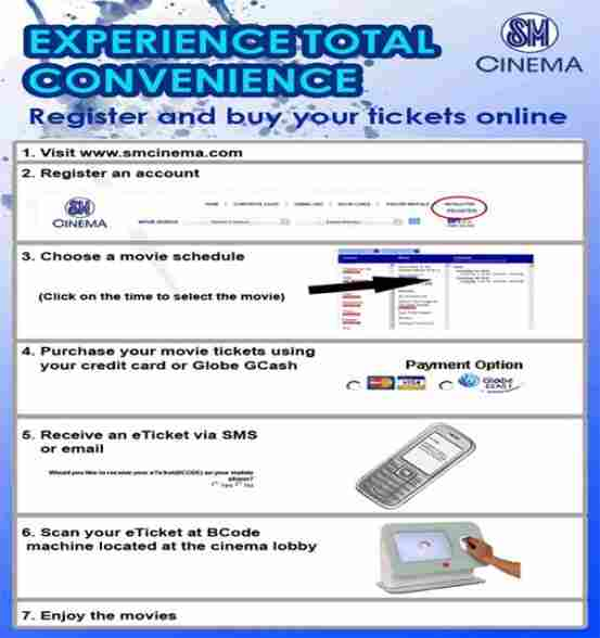 How to purchase tickets online