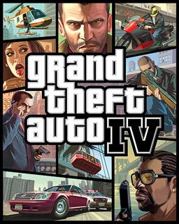 grand theft auto IV poster
