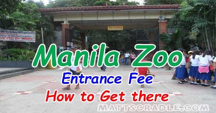 Manila Zoo Entrance Fee, Schedule, Maps, Website