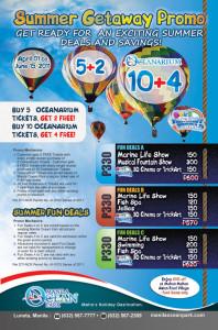 manila ocean park summer promo