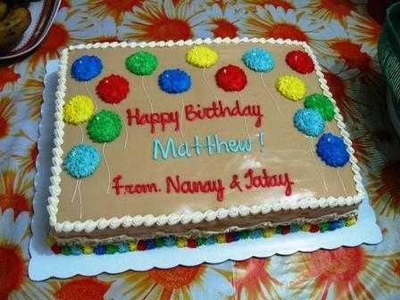 Birthday Cake from Estrels Photo