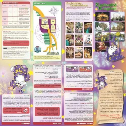 Enchanted Kingdom Map one