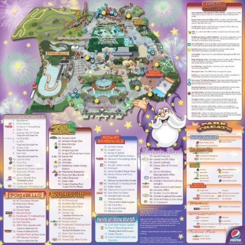 Enchanted Kingdom map two