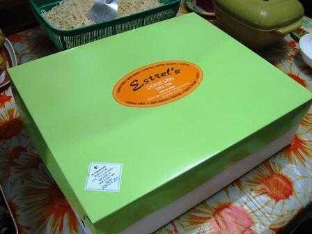 Estrel's Caramel Cake Box