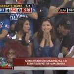 Angel Locsin Spotted At Azkals Sri Lanka Match Up