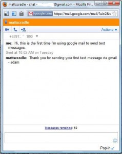 How to send Free SMS (Free text) with Gmail to Globe, Sun Cellular
