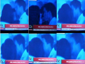 Phil YoungHusband kiss Angel Locsin