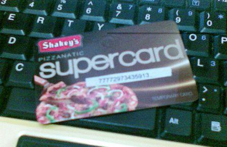 shakeys supercard