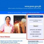 POEA Accredited Agency 2 Steps Verification Process