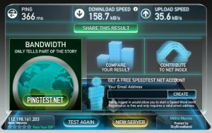 """Globe Speedtest"""