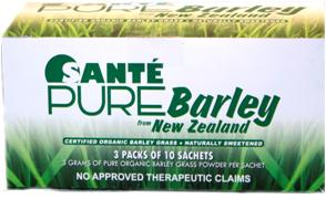 """Santé Pure Barley New Zealand Blend with Stevia"""