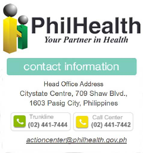 philhealth number telephone