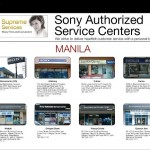 Sony Service Center Philippines