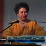 Sen Miriam Defensor Santiago Pick Up Lines