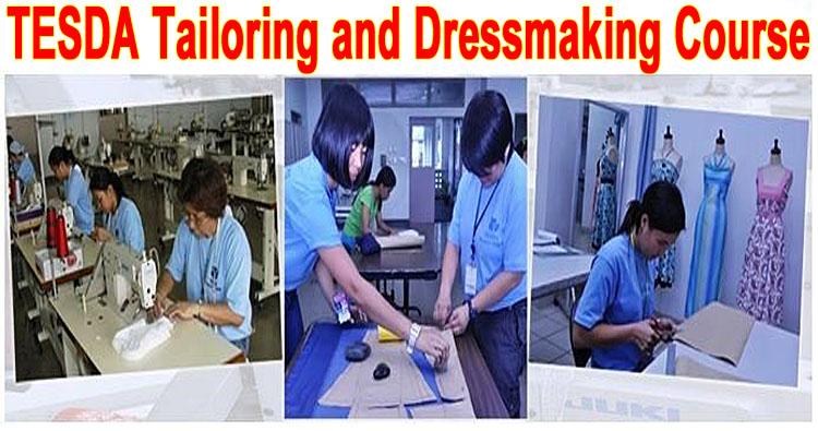 tesda dressmaking tailoring course