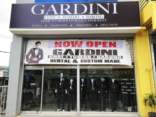 Gardini Branches Barong Suit Coat Tuxedo For Rent