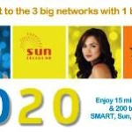 Smart, Sun Cellular, Talk N Text Trio 20 Offer