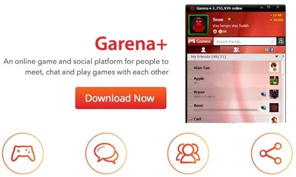 download garena + plus