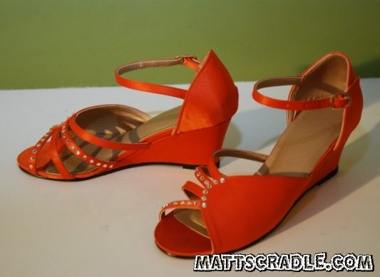 wedding shoes one