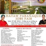 Parañaque City Job Fair July 2012