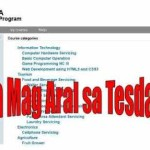 Study Tesda Courses Online For Free No Tuition Fee this 2016 (Updated)