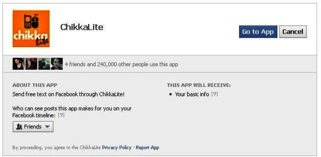 Chikka offer Free Text in the Philippines on Facebook