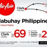 AirAsia Direct Flights (Singapore to Clark Philippines) Promo