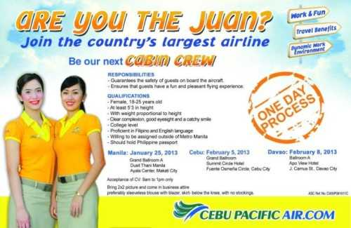 cebu pacific job openings