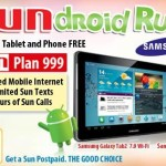 Sun Cellular Samsung Galaxy Tab2 and Galaxy Y Bundle