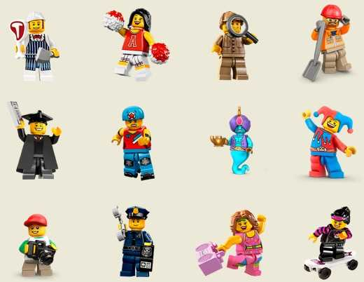 Facebook chat lego stickers