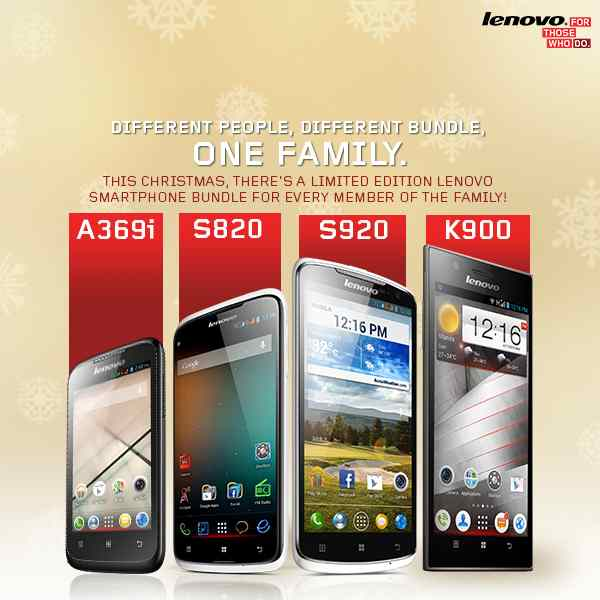 Lenovo Mobile Smartphone Bundle