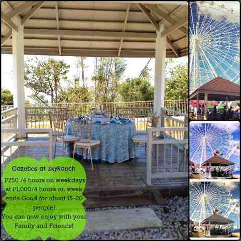Sky ranch tagaytay gazebo rates