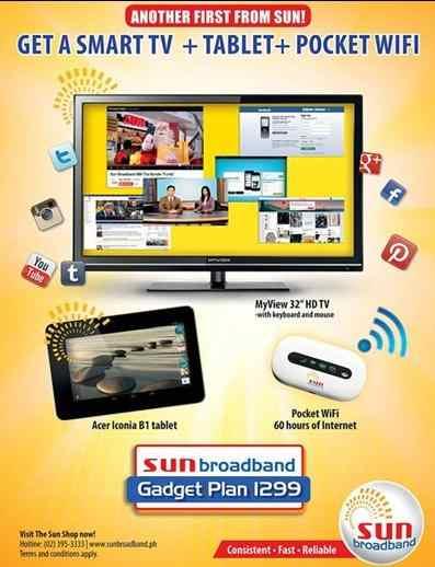 sun broadband plan 1299