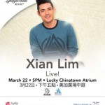 Xian Lim Live in Lucky ChinaTown Mall in Binondo Manila March 2014
