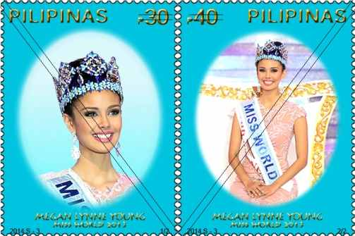 megan young philpost stamp picture
