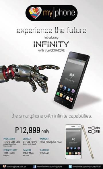 myphone aqua infinity price