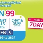 Smart All IN 99 Offers Call, Text, and Unlimited FB for Seven Days