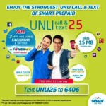 Smart Unli Call and Txt 25 (UNLI25) Promo and Registration Details