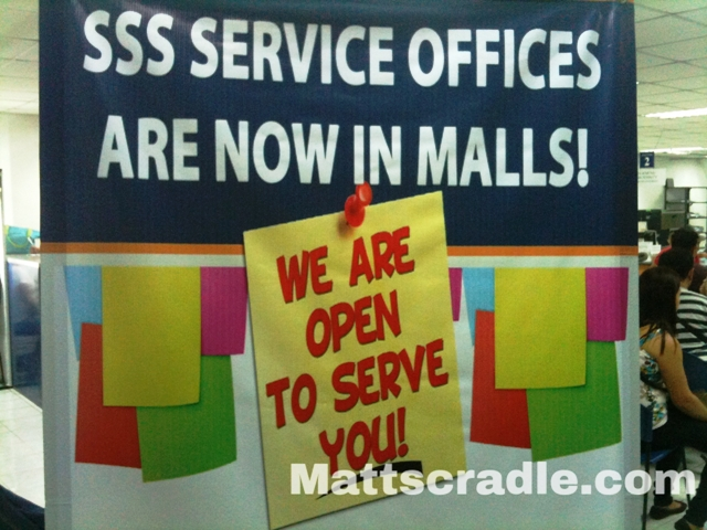 sss offices in malls