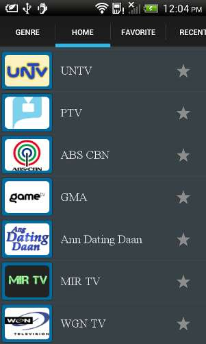 Watch Live Abs Cbn Tv Shows With Android Phone