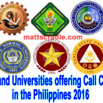 17 Colleges and Universities offering Call Center Course in the Philippines 2016