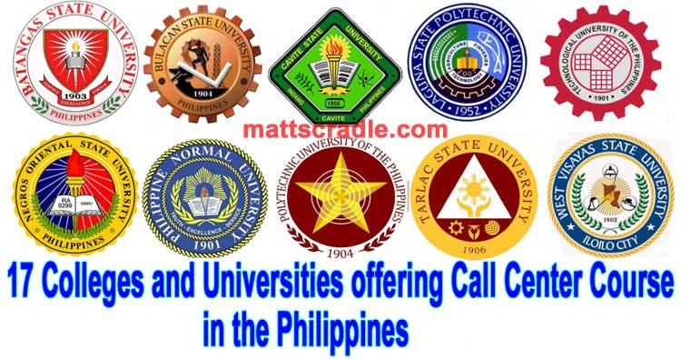 call center course colleges universities philippines