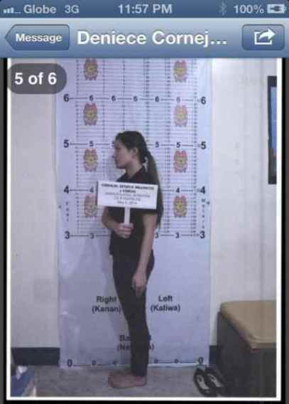 deniece cornejo mugshot pictures left