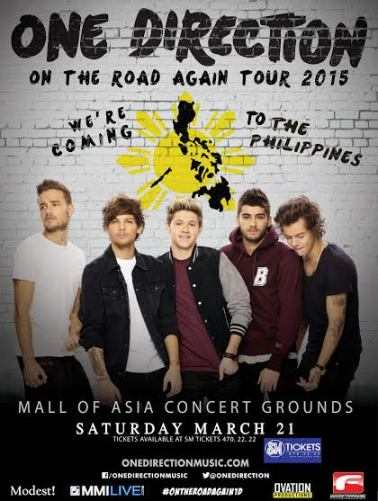 one direction live in manila march 2015